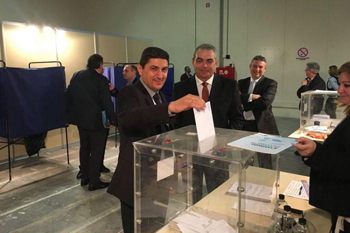Δήλωση Γραμματέα Π.Ε. Ν.Δ. κ. Λευτέρη Αυγενάκη για την ψηφοφορία του  11ου Συνεδρίου της Νέας Δημοκρατίας