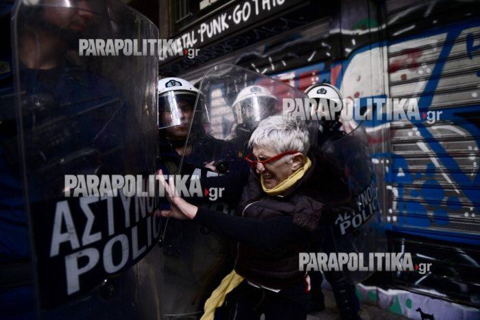 Πλειστηριασμοί: Συγκρούσεις με τα ΜΑΤ και τραυματίες