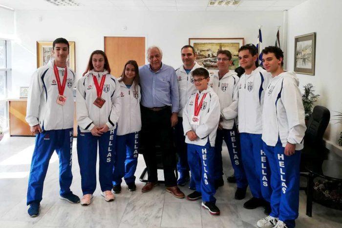 Συγχαρητήρια Δημάρχου Σταύρου Κασιμάτη στον «Α.Σ Αετός Κορυδαλλού»
