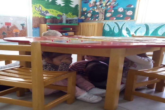 Ασκήσεις ετοιμότητας για σεισμούς στου Δημοτικούς παιδικούς  και Βρεφονηπιακούς Σταθμούς του Δήμου Αγ. Βαρβάρας
