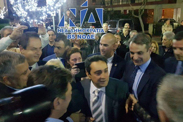 Κ. Μητσοτάκης στο Ίλιον: Θα ηγηθώ του ψηφοδελτίου της Ν.Δ. στη δυτική Αθήνα (βίντεο)