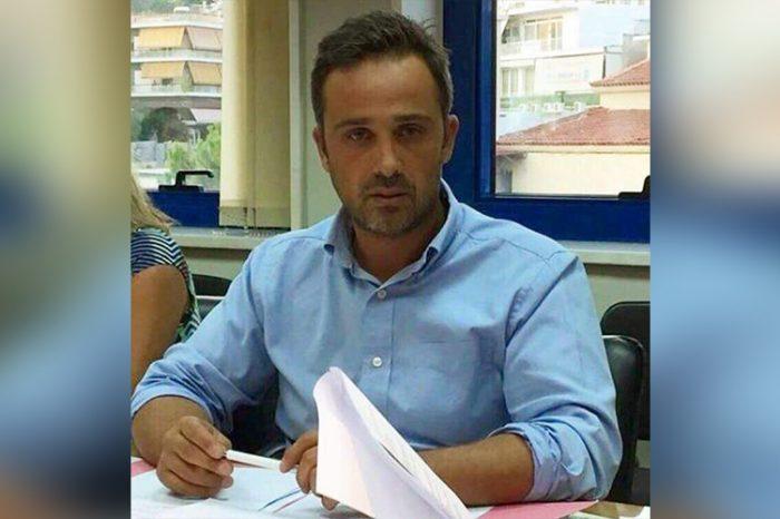 Ο αντιδήμαρχος Αντρέας Λεωτσάκος με το συνδυασμό του Γ. Πατούλη στην Περιφέρεια Αττικής