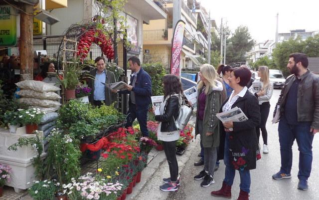 Συνεχίζονται οι περιοδείες του υπ. Δημάρχου Βαγγέλη Ντηνιακού στις γειτονιές της πόλης