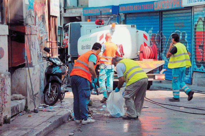 Δ. Χαϊδαρίου: Παραμένουν στην εργασία τους 26 συμβασιούχοι στην Καθαριότητα