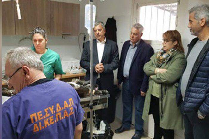 Έκτακτη επίσκεψη Γ. Πατούλη στο ΔΙΚΕΠΑΖ