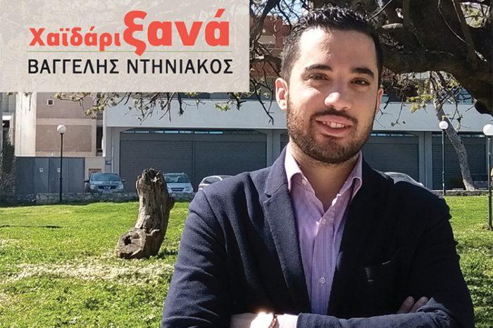 Γ. Αργυρόπουλος: Χαϊδάρι, τομείς άμεσης επέμβασης