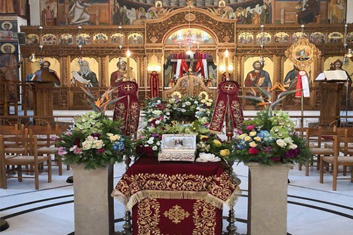 Υποδοχή των Ιερών Λειψάνων του Αγίου Νικολάου στην ενορία του Προφήτη Ηλία