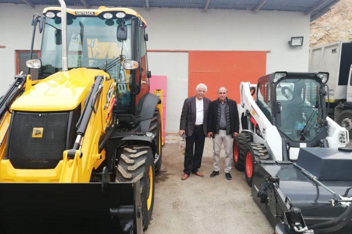Ξεκίνησε το πρόγραμμα ανανέωσης του μηχανολογικού εξοπλισμού του Δήμου