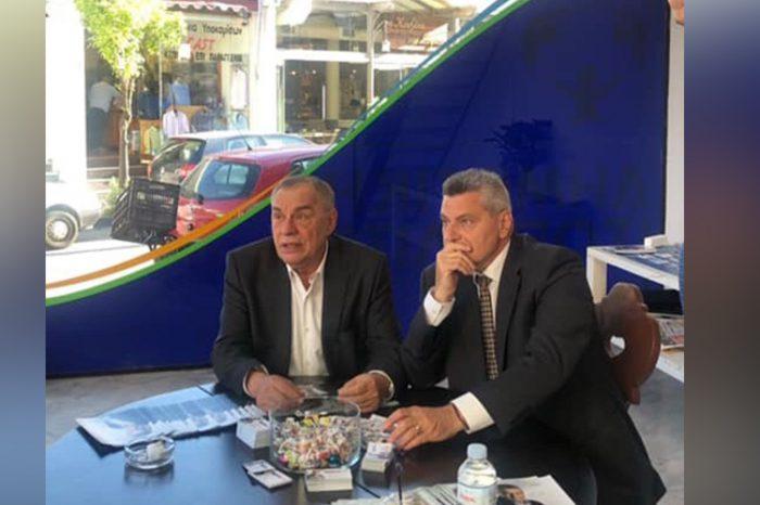 Το εκλογικό κέντρο του Αντώνη Κακούρη επισκέφτηκε ο Γεράσιμος Γιακουμάτος