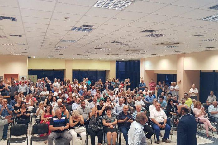 Προεκλογική ομιλία του υποψήφιου Βουλευτή Β' Γιάννη Τραγάκη, στο Πέραμα