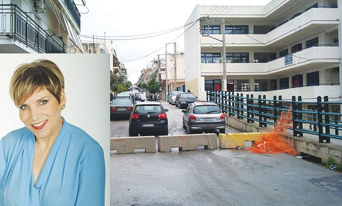 Αλεξάνδρα Φέγγη: Από το… ραχάτι της διοίκησης Καπλάνη, είναι κλειστή  η Στ. Σαράφη από το 2014!