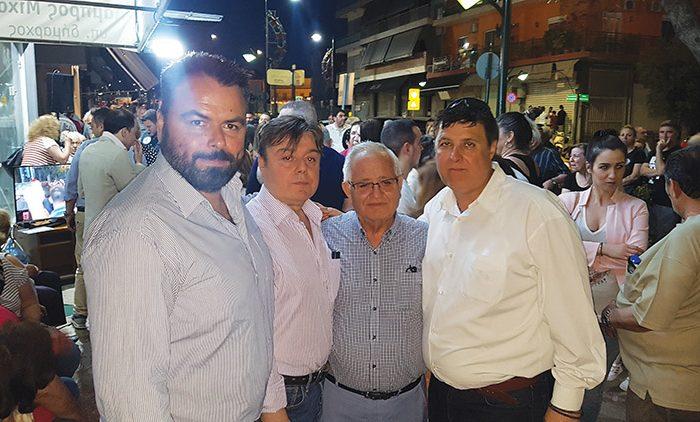 Συνεχίζει δυναμικά ο πρόεδρος της ΔΗΜ.Τ.Ο. Ν.Δ. Αγίας Βαρβάρας Μανώλης Ζερβάκης