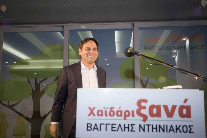 Bαγγέλης Ντηνιακός:  «Στην μεγάλη ευθύνη που μας ανέθεσαν οι δημότες, οφείλουμε να ανταποκριθούμε πλήρως.»