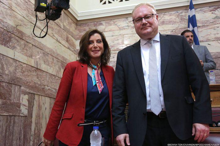 Τοποθέτηση της Μ. Ασημακοπούλου στη συνεδρίαση της Ειδικής Διαρκούς Επιτροπής Ευρωπαϊκών Υποθέσεων της Βουλής των Ελλήνων