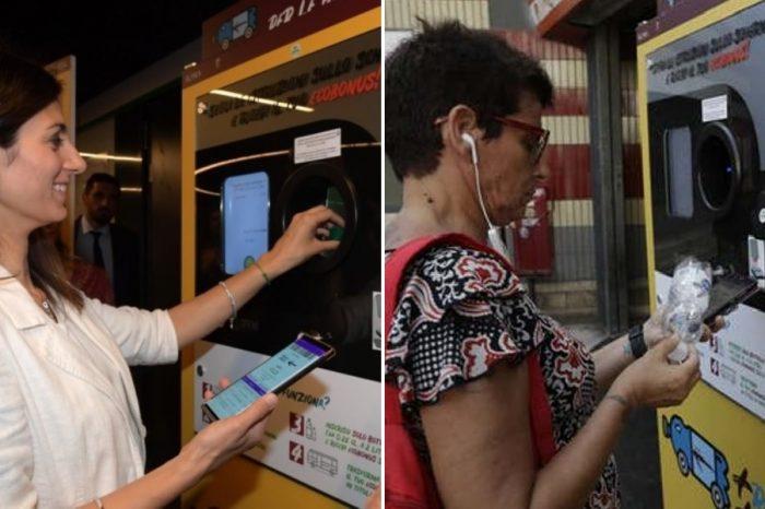 Ρώμη: Οι κάτοικοι ανακυκλώνουν πλαστικά μπουκάλια με αντάλλαγμα εισιτήρια μετρό & λεωφορείου