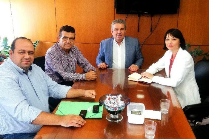 Συνάντηση της Βουλευτού Νάντιας Γιαννακοπούλου με τον Δήμαρχο Ιλίου Νίκο Ζενέτο