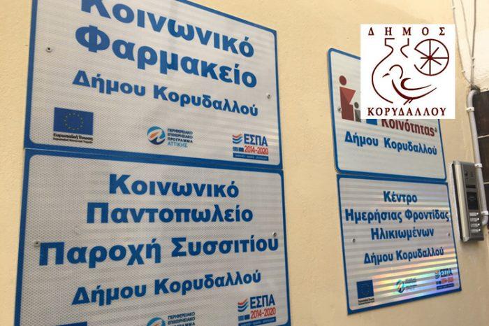 Νέες αιτήσεις ένταξης στο Κοινωνικό Παντοπωλείο του Δήμου Κορυδαλλού
