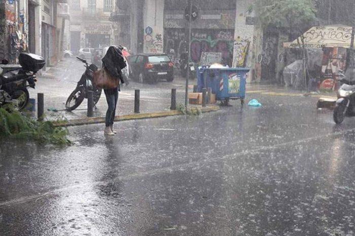 Έκτακτο δελτίο καιρού: Έρχεται κακοκαιρία με καταιγίδες και χαλάζι -Πού θα χτυπήσει