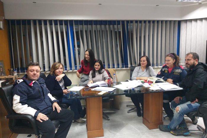 Ενεργή συμμετοχή της ΕΔΟΚ Αγίας Βαρβάρας κατά την διάρκεια της εκδήλωσης των επικίνδυνων καιρικών φαινομένων
