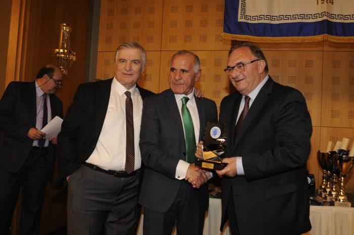 Βραβεύτηκε ο Δημήτρης Καλογερόπουλος στην ετήσια εκδήλωση της ΕΠΣΑ για το 2020