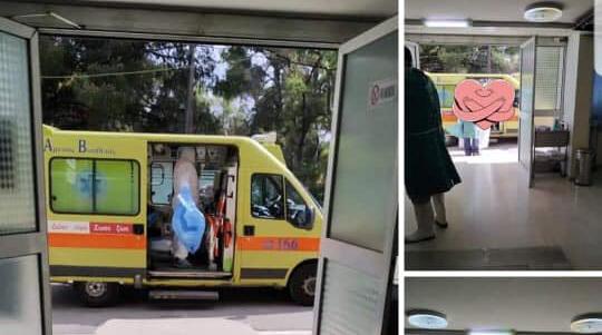 Στο νοσοκομείο Δυτικής Αθήνας «Αγία Βαρβάρα» (πρώην Λοιμωδών), έφθασαν οι δύο πρώτοι ασθενείς, οι οποίοι είναι θετικοί στον κορωνοϊό