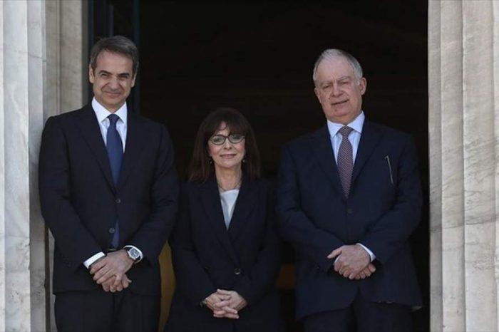 Ορκίστηκε Πρόεδρος της Δημοκρατίας η Αικατερίνη Σακελλαροπούλου