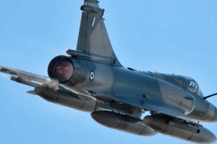 Πτήσεις μαχητικών αεροσκαφών πάνω από την Αθήνα ενόψει 25ης Μαρτίου