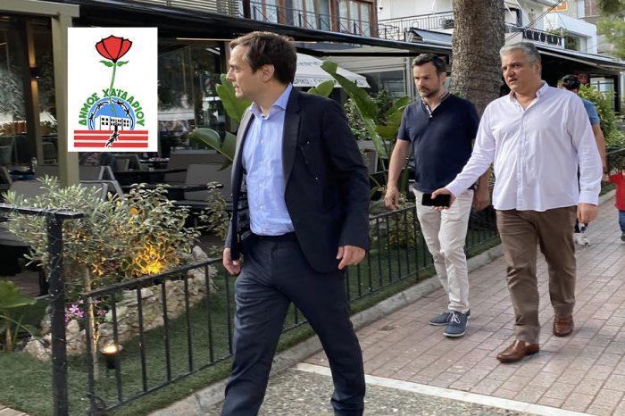 Τα καταστήματα εστίασης του Χαϊδαρίου επισκέφθηκε ο  Δήμαρχος Βαγγέλης Ντηνιακός