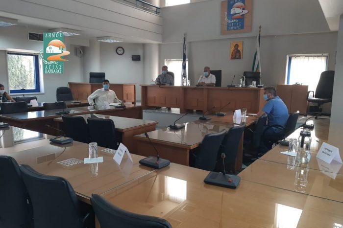 Συνεδρίαση της Οικονομικής Επιτροπής του Δήμου – απόντες οι εκπρόσωποι της αντιπολίτευσης