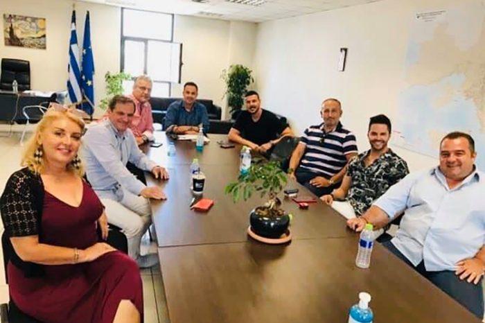 Συνάντηση του Αντιπεριφερειάρχη Δυτικού Τομέα Αθηνών με τους Αντιδημάρχους Πολιτισμού σχετικά με τις πολιτιστικές εκδηλώσεις του καλοκαιριού 2020