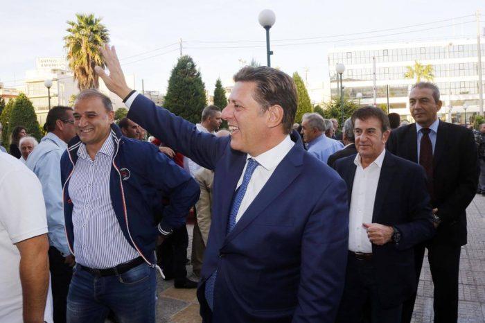 Εντυπωσιακή είναι η παρουσία του βουλευτή Δυτικής Αθήνας και Αναπληρωτού Υπουργού Εξωτερικών κ. Μιλτιάδη Βαρβιτσιώτη