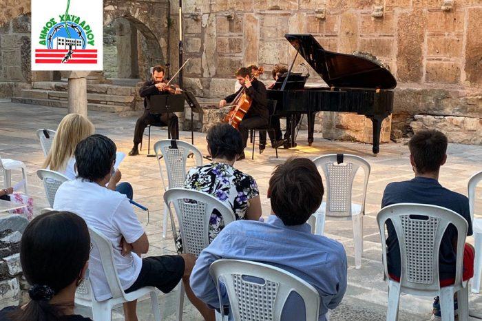 Βραδιά  κλασικής μουσικής χθες  στη Μονή Δαφνίου