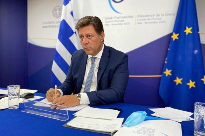 Μ. Βαρβιτσιώτης: Το Συμβούλιο της Ευρώπης να παραμείνει ενεργός πυλώνας του ευρωπαϊκού νομικού συστήματος και αξιών (15.09.2020)