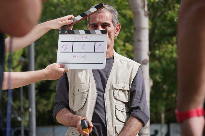 Γυρίσματα ταινίας μικρού μήκους στο Άλσος Αιγάλεω