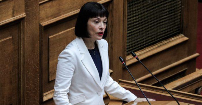 Νάντια Γιαννακοπούλου: Συζήτηση Επίκαιρης Ερώτησης για τα ναυπηγεία Σκαραμαγκά
