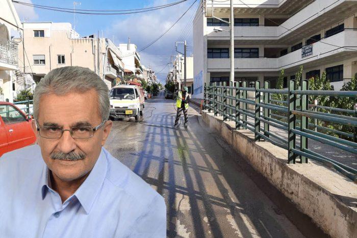 Λ. Μίχος: Ολοκληρώθηκε ένα μήνα νωρίτερα το αντιπλημμυρικό έργο της γέφυρας Στ. Σαράφη