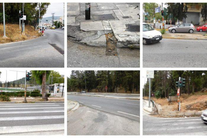Ε. Μπούρα: Έργο «Βελτίωση οδικών χαρακτηριστικών της Ιεράς Οδού κι εξοπλισμού αυτής »