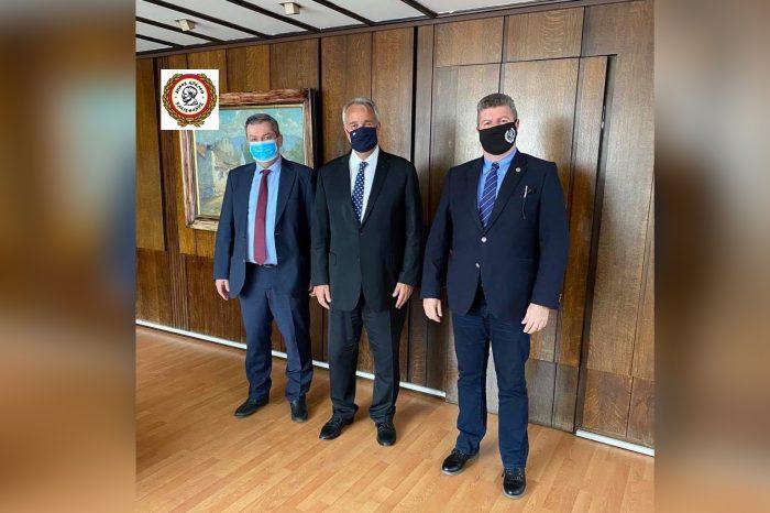 Συνάντηση Δημάρχου Αιγάλεω Γιάννη Γκίκα με τον Υπουργό Εσωτερικών Μάκη Βορίδη