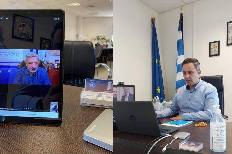 Τακτική σύσκεψη με θέμα : «Πρόληψη και Προσυμπτωματικός έλεγχος στην Περιφερειακή Ενότητα του Δυτικού Τομέα Αθηνών»