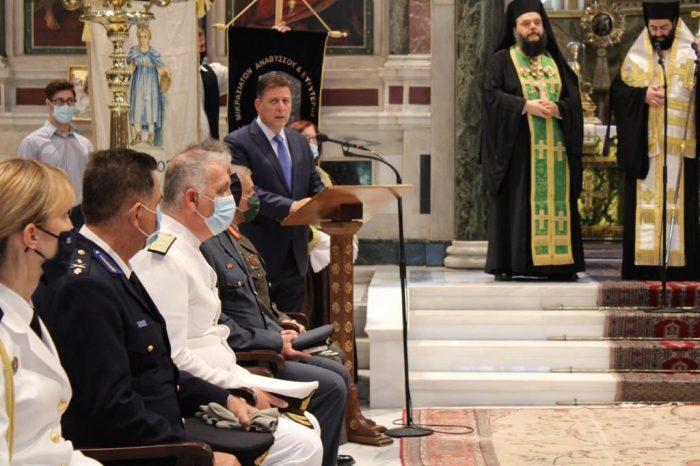 Ομιλία του Αναπληρωτή Υπουργού Εξωτερικών Μιλτιάδη Βαρβιτσιώτη στην επιμνημόσυνη δέηση για την Ημέρα Εθνικής Μνήμης της Γενοκτονίας των Ελλήνων της Μικράς Ασίας – Κατάθεση στεφάνου στο Μνημείο του Αγνώστου Στρατιώτη