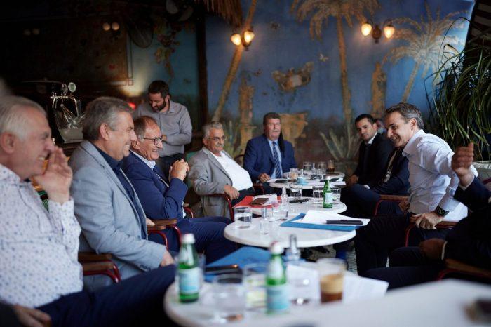 Δήλωση του δημάρχου Αιγάλεω Γιάννη Γκίκα μετά την συνάντηση των 7 δημάρχων με τον Πρωθυπουργό