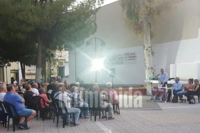 Εκδήλωση - φιάσκο του ΣΥΡΙΖΑ με 30 άτομα στην Αγία Βαρβάρα (εικόνες)