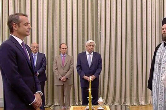 Ορκίστηκε Πρωθυπουργός ο Κυριάκος Μητσοτάκης - Live