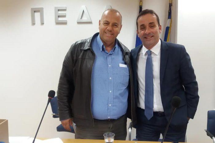Αντιπρόεδρος του Εποπτικού Συμβουλίου της ΠΕΔΑ ο Γιάννης Διάκος