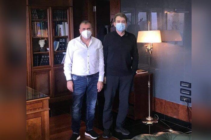Επίσκεψη του κ. Σπίνουλα στον Υπουργό Προστασίας του Πολίτη κ. Μιχάλη Χρυσοχοΐδη