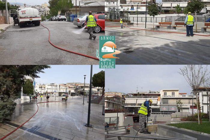 Οι εργαζόμενοι της Υπηρεσίας Πρασίνου αλλάζουν την εικόνα της πόλης