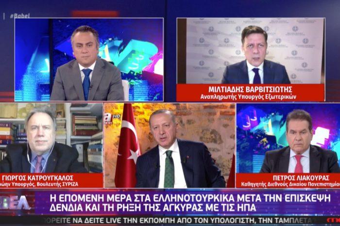 Μ. Βαρβιτσιώτης: Δεν μπορεί να μείνει αναπάντητη η τουρκική προκλητικότητα