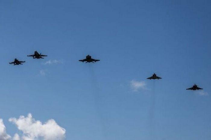 Γιατί πέταξαν μαχητικά αεροσκάφη πάνω από την Αθήνα