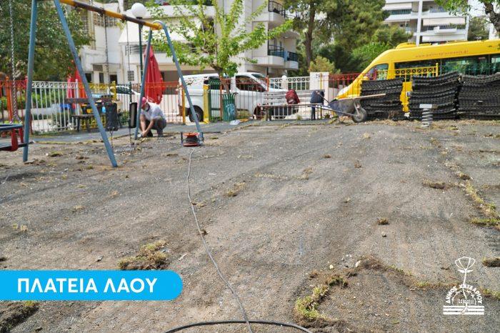 Ξεκίνησε η ανακατασκευή 22 Παιδικών Χαρών σε όλο τον Δήμο Χαϊδαρίου, με χρηματοδότηση από την Περιφέρεια Αττικής