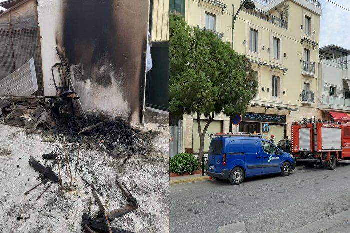 Φωτιά σε ταράτσα ιατρείου επί της Ελ. Βενιζέλου